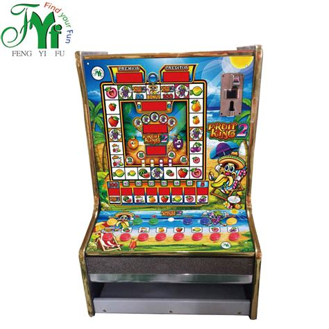 Fruit King 777 Mario Slot Game Machine Kits Coin Operated