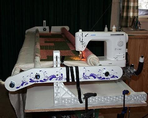 mid arm machine and quilting frame help