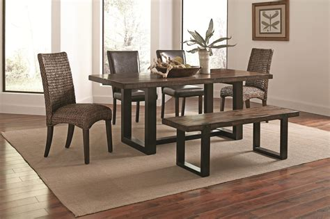two tone dining room sets coaster westbrook 5 piece dining room set in two tone by
