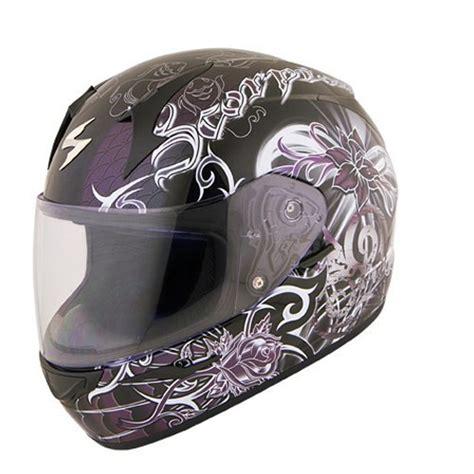 scorpion womens exo  orchid full face helmet