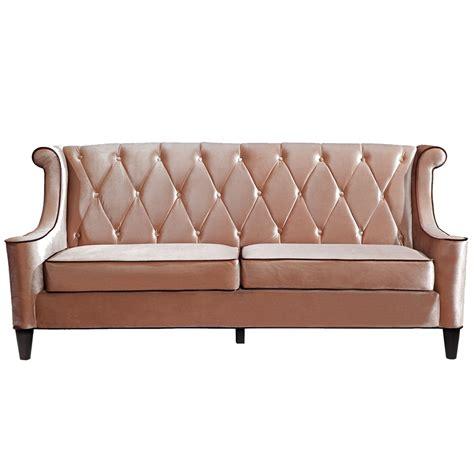 barrister velvet sofa barrister sofa in caramel velvet