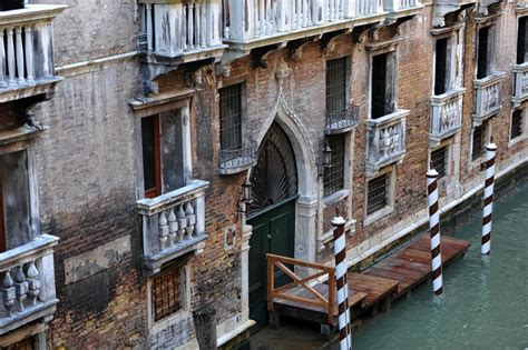 venice italy  century canal front contemporary