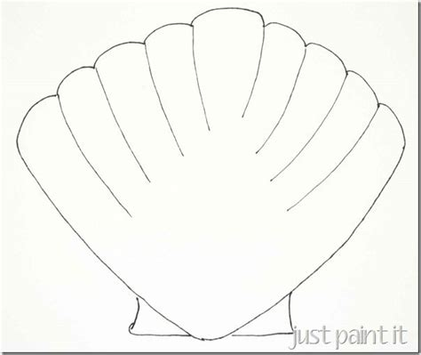 shell drawing easy at getdrawings com free for personal use shell