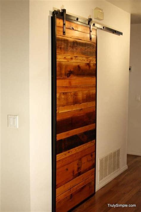 Diy Wooden Pallet Door Ideas Pallet Door Pallet Barn Door Furniture