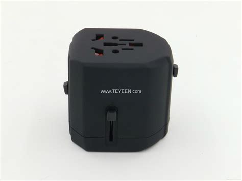 Murah Travel Charger Smart 2 5a Dual Usb new 2 5a universal travel adapter with dual usb charger