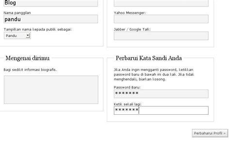 petunjuk membuat blog di wordpress cara daftar untuk membuat blog di wordpress com garudayasa