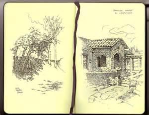 new tacoma design excercise travel sketchbook