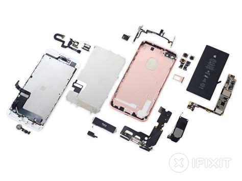 iphone 7 plus screen replacement pink iphone 7 plus teardown ifixit