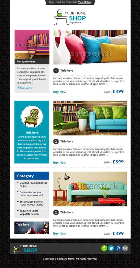 Email Newsletter Exles Business Email Templates Sle Newsletter Templates And Email Company Newsletter Email Template