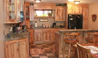 Knotty Hickory Kitchen Cabinets knotty hickory kitchen cabinets rustic hickory hickory kitchens