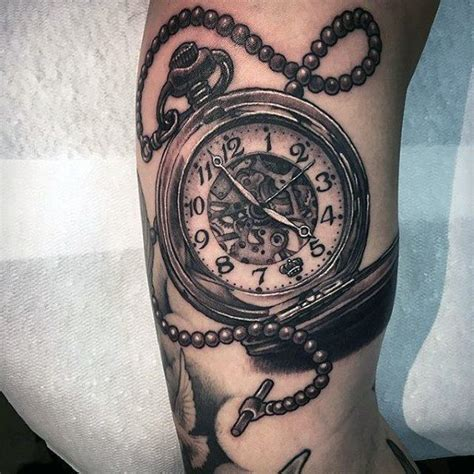pocket watch tattoo ideas 200 popular pocket and meanings 2017
