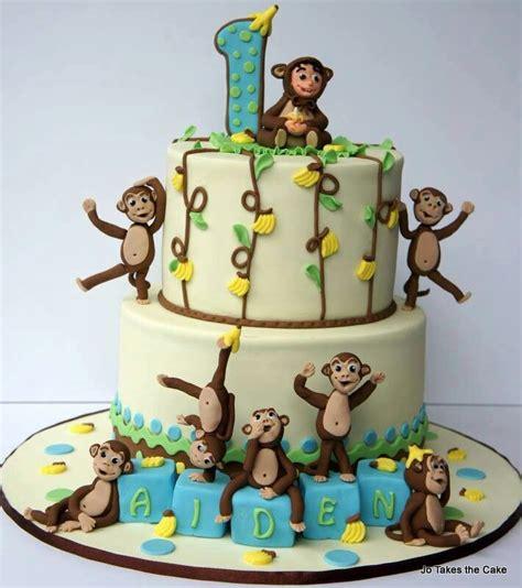 monkey template for cake monkey cake aapjes taart kinderfeestje
