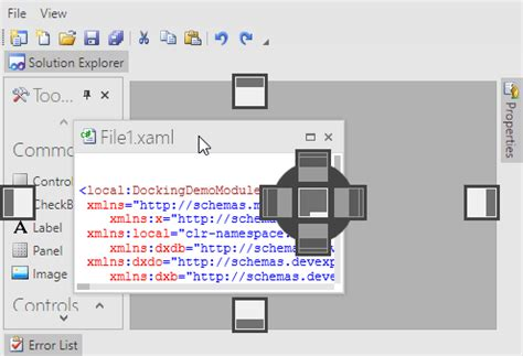 dock manager wpf layout control devexpress document groups and panels layout management wpf