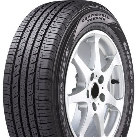 goodyear comfort tread goodyear assurance comfortred touring tire p205 50r17 89v