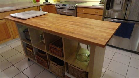 Kitchen Butcher Block Island Ikea Cookie Island The Troika Table