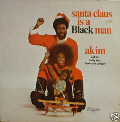 black santa up the assimilated negro