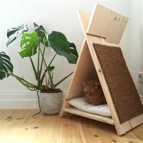 Bett Aus Pappe Selber Bauen by Katzenhaus Selber Bauen 40 Preisg 252 Nstige Und Praktische