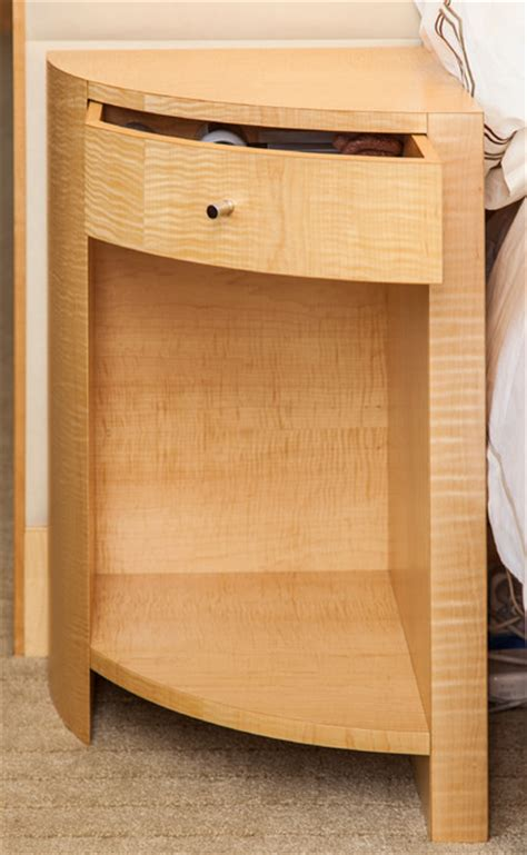 maple night stands bedroom tiger maple bedroom suite modern nightstands and