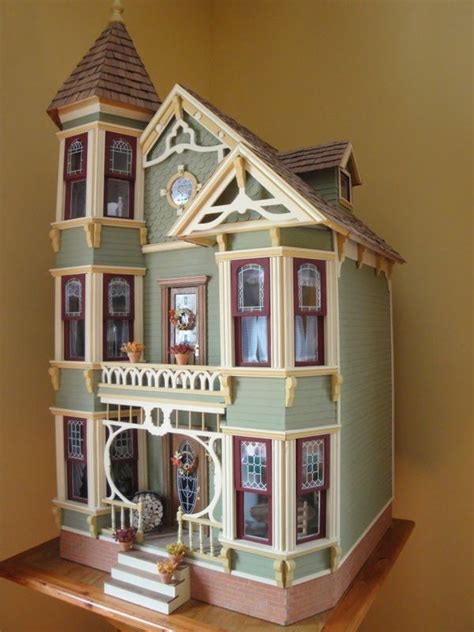pink wooden doll house best 25 victorian dollhouse ideas on pinterest doll