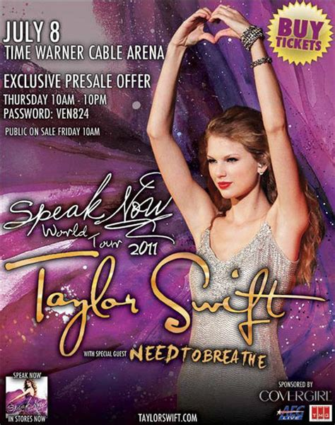 taylor swift tour charlotte taylor swift speak now tour charlottehappening