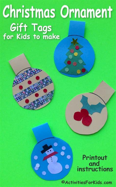 printable ornament tags printable christmas ornament gift tags