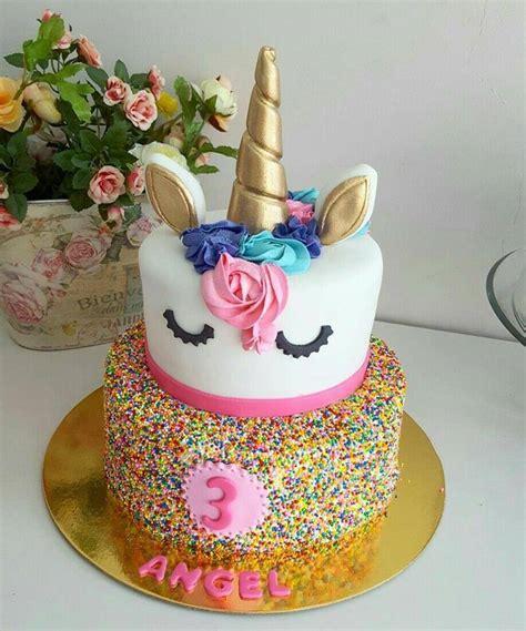 como decorar un pastel para niña pasteles para nia de 3 aos coloridos y fuente tutu