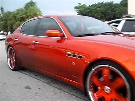 Orange Maserati by Orange Maserati On 22 S Skylark On 24 S And Impala