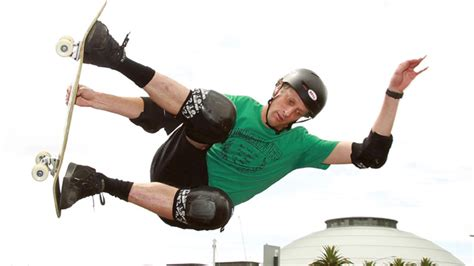 » Skateboarding legend ?The Birdman? Tony Hawk   Sydney