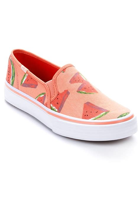 keds keds decker canvas slip on shoes shoes