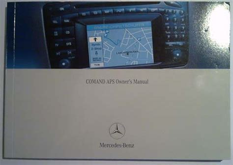 Comand 2 0 Manual For C W203 Clk G Class Cars