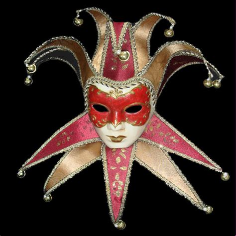 Handcrafted Masks - china handmade venice mask paper mache jolly joker