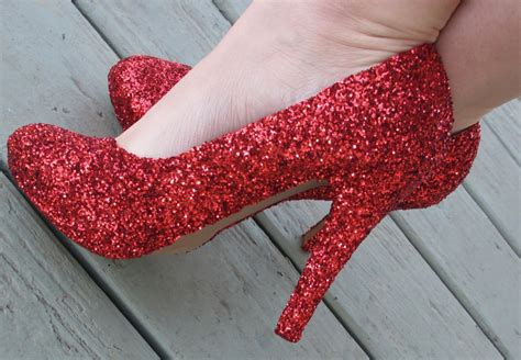 make ruby slippers make your own pair of ruby slippers for 5 stay at