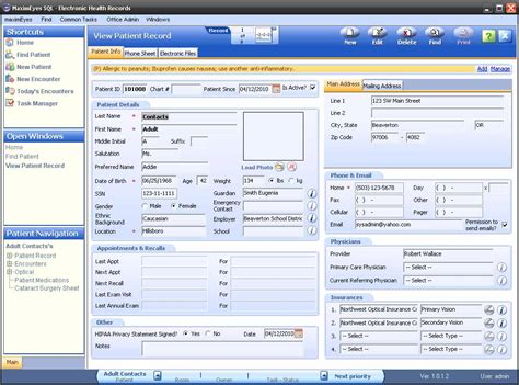View Records Maximeyes Software By Insight Help