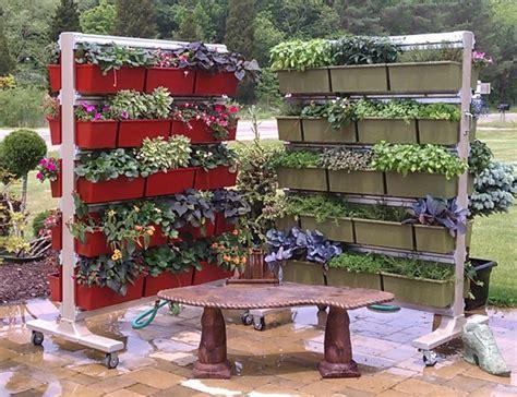 Portable Vertical Garden Vertical Herb Garden Nifty Homestead