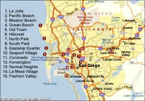 San Diego Area Map by December 2011 Free Printable Maps