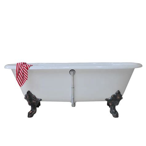 cast iron bathtub manufacturers double ended cast iron bathtub on monarch imperial feet
