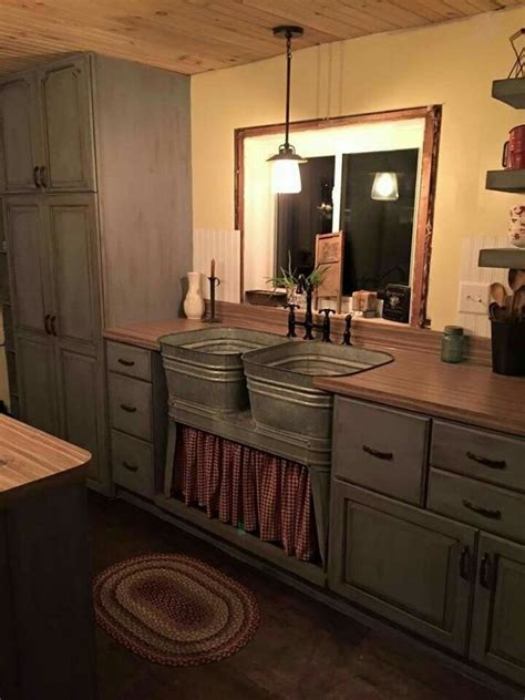 primitive kitchen furniture best 25 primitive bathrooms ideas on pinterest