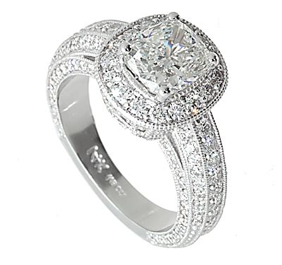 vintage halo engagement rings wedding promise