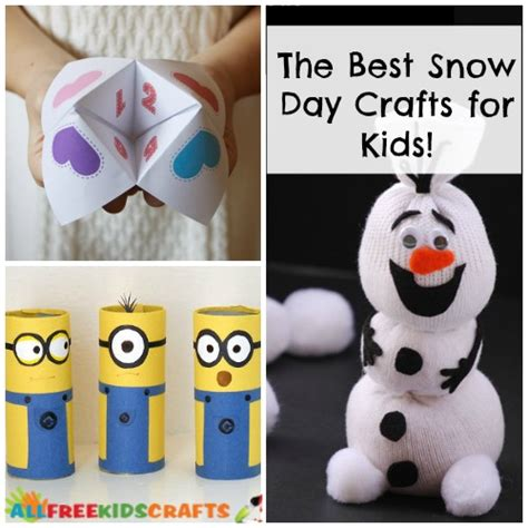 snow day crafts for make the most of snow days with these easy crafts for