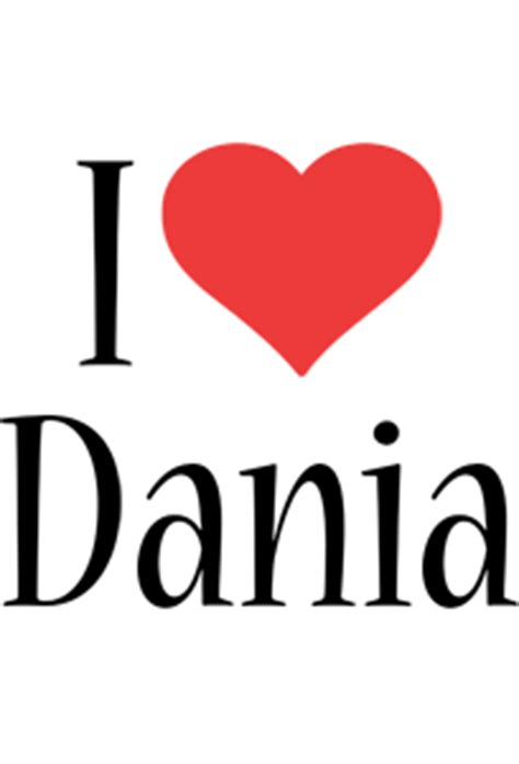 dania logo name logo generator kiddo i colors style