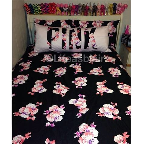 victoria secret bedding pink comforter pillow love victoria secret my room