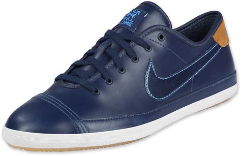 nike flash leather shoes blue