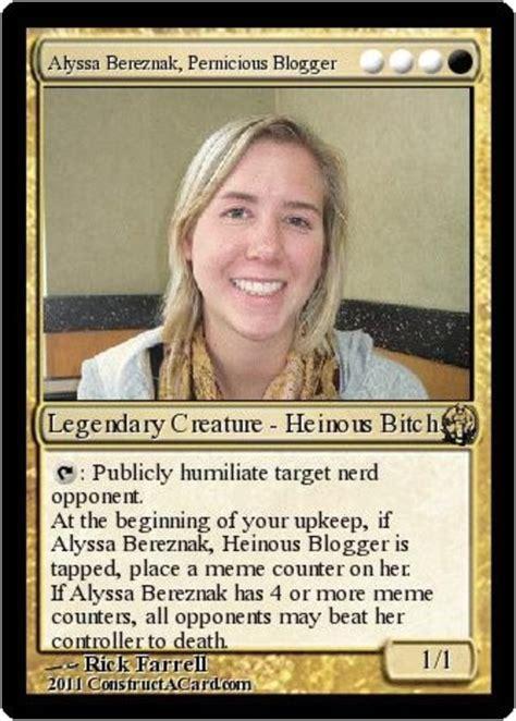 Magic Card Meme - my brief okcupid affair with a world chion magic the