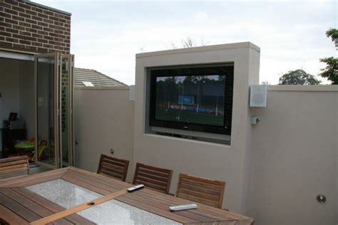 implementing outdoor tv cabinet plans how to build an