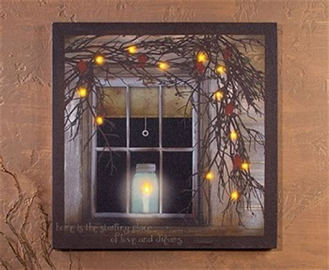 Lighted Canvas Pictures by Lighted Canvas Pictures Quot Home Is The Starting Place Quot