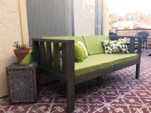 home made couch our diy patio sofa vivagood