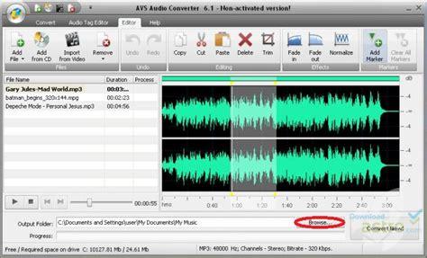 audio format converter software free download avs audio converter neueste version kostenloser