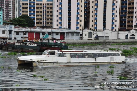 ferry boat pasig river pasig river philippines tour guide