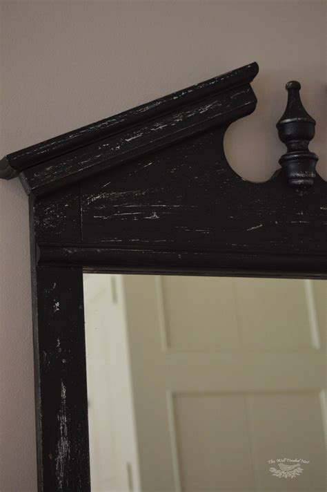 chalk paint mirror my chalk paint mirror recipes home decor diy wellness