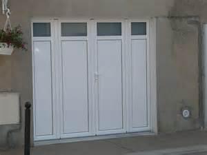 chantier porte de garage 224 battant aluminium www